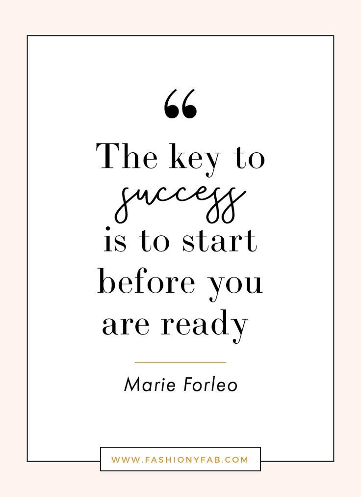Start before you're ready // Inspirational quotes // Motivation // Quotes