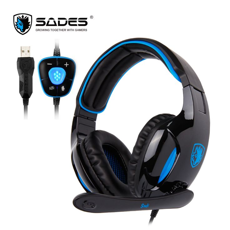 Buy SADES SNUK Professional Headphone Virtual 7.1 Surround Sound Headphones with 40mm speaker Gaming Headset for Gamer #SADES #SNUK #Professional #Headphone #Virtual #Surround #Sound #Headphones #with #40mm #speaker #Gaming #Headset #Gamer