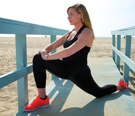 Stretch it out after a run to prevent injuries