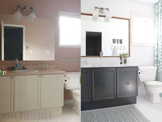 Pic On How to Makeover an Outdated Bathroom on a Budget
