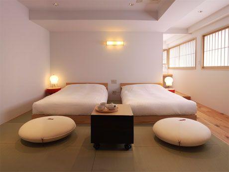 "simple japanese style. ""Hotel Claska"" in meguro, tokyo"