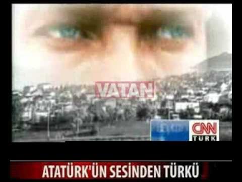 Atatürk'ün sesinden muhteşem türkü