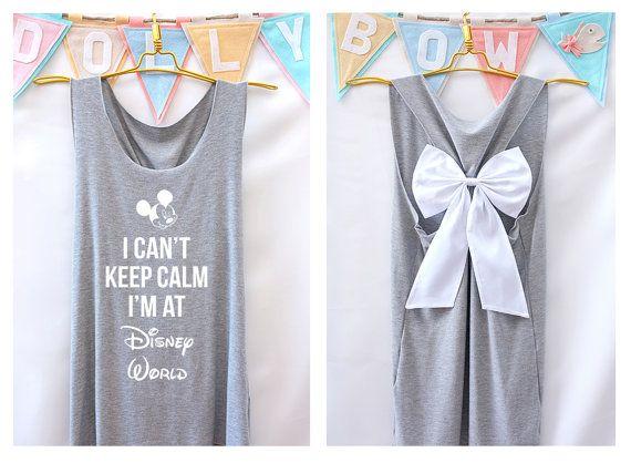 I'can houden rust ik in Disney world Mickey Tank door DollysBow