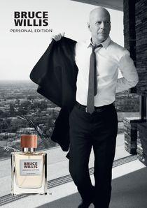 Personal Edition - Un parfum de star  L'acteur international Bruce Willis pérennise son partenariat avec LR en créant un second parfum.