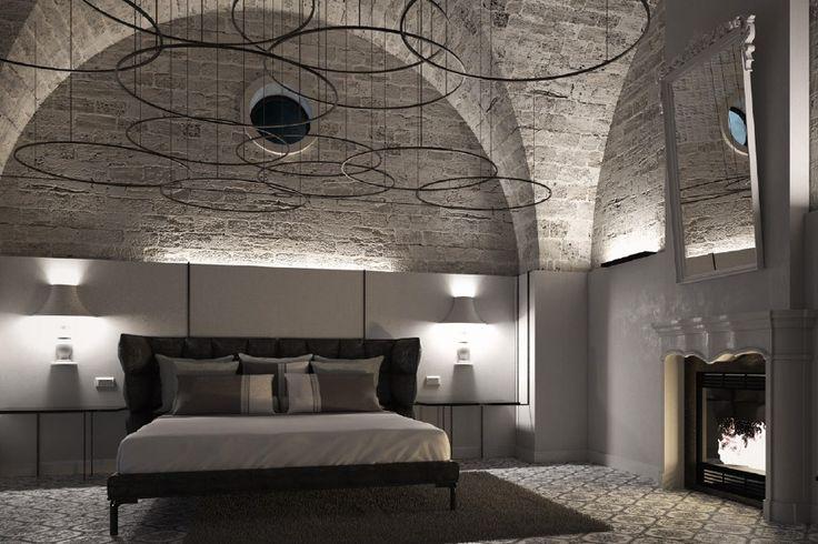 """Lampada """"Glamp"""" Visione d'insieme www.bragliacontract.com #design #arredamento #esclusivo #glamp #lampade"""