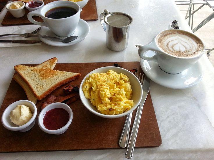 Pişmiş Yumurta, Kahvaltı, Kahve, Latte, Yumurta, Tost