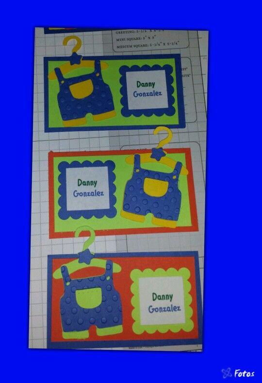 Tarjetas de niño, personalizada, tarjetas personales