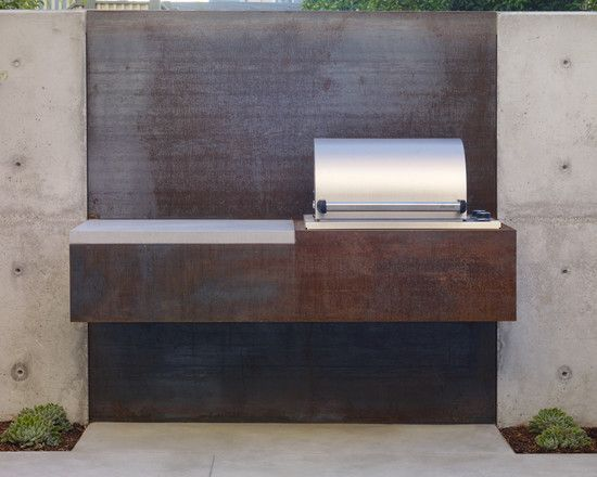 Built In Barbecue Grill Design, Pictures, Remodel, Decor and Ideas - page 3