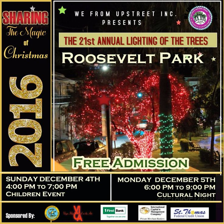 We From Upstreet, Inc announces its 21st Annual Lighting of the - annual agenda