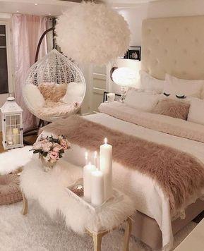 Zarte Schlafzimmer – kreative Ideen