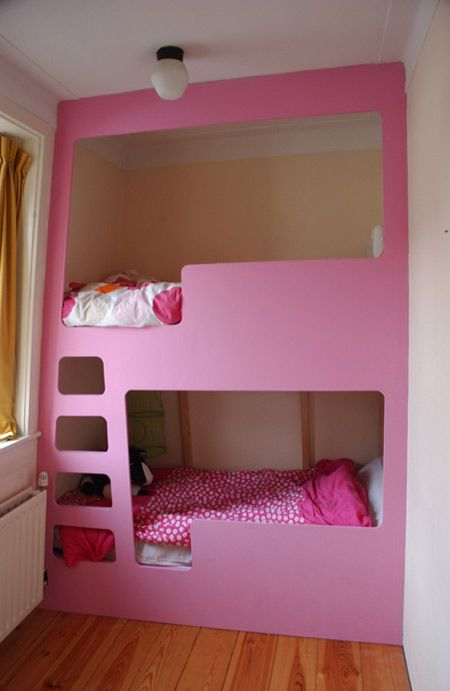 I would like this idea in a small bedroom for my 2 girls