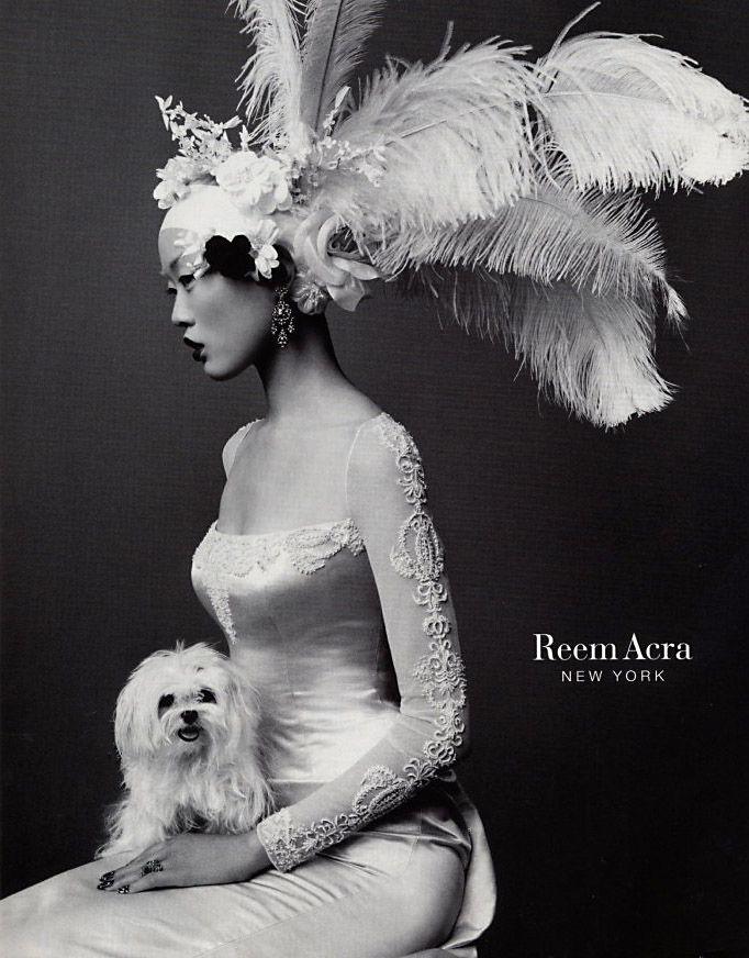 Reem Acra, circa 2000's   Model: Kae Lee Iwakawa