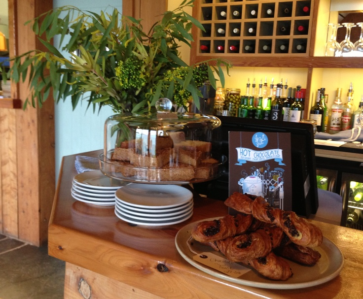 Freshly baked pastries at the Ruin Beach Cafe, Tresco, Isles of Scilly