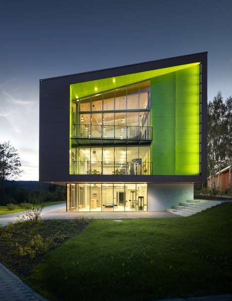 Green boutique lodgings architecture for Architecture 54