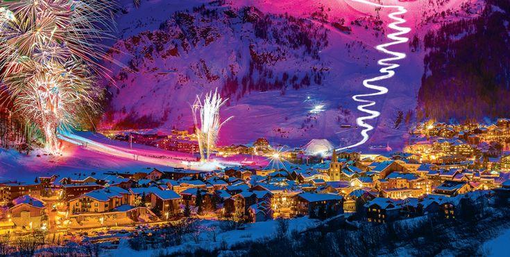 Val d'Isère - Station de ski en Savoie - France