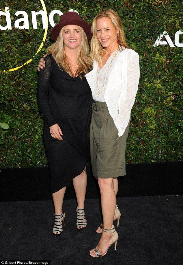 Mario Bello and partner Clare Munn attend Sundance Institute Celebration | Daily Mail Online