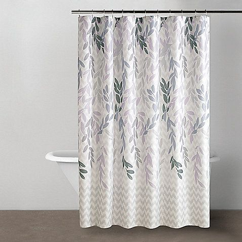 DKNYR Spring Willow Shower Curtain