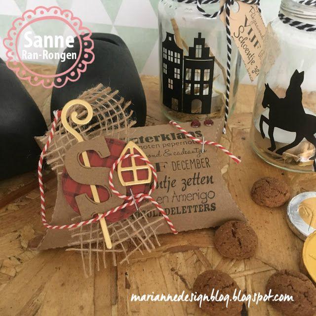 Marianne Design Blog: Sinterklaas doosje