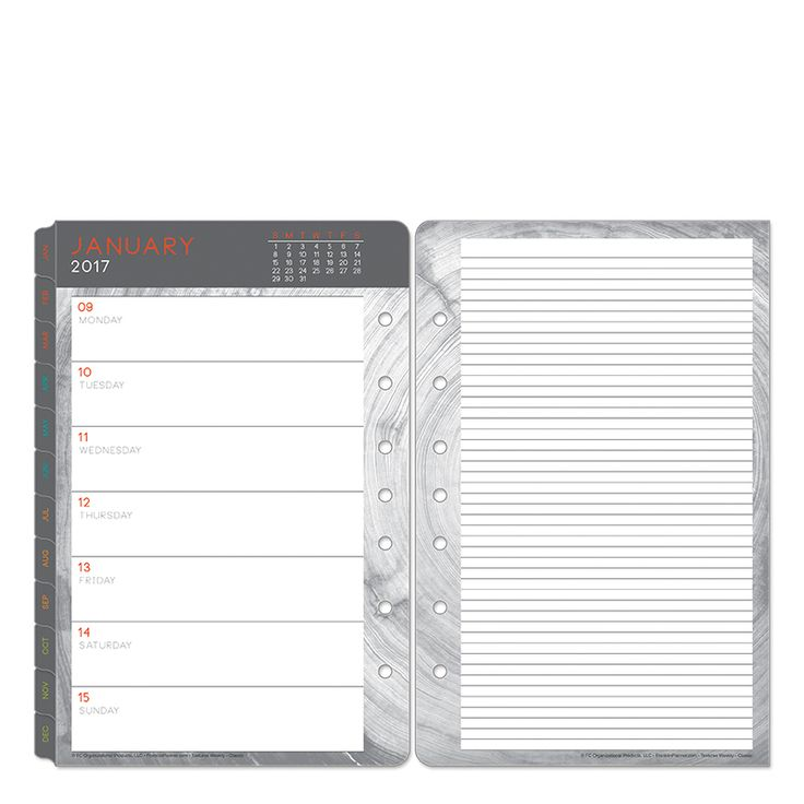 Best Planner Images On   Organizers Planners And
