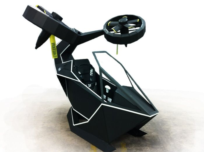 Scorpion Personal Helicopter by Griffin Mullins at Coroflot.com