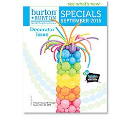 SEPTEMBER SPECIALS: DECORATOR ISSUE 2015 #burtonandburton
