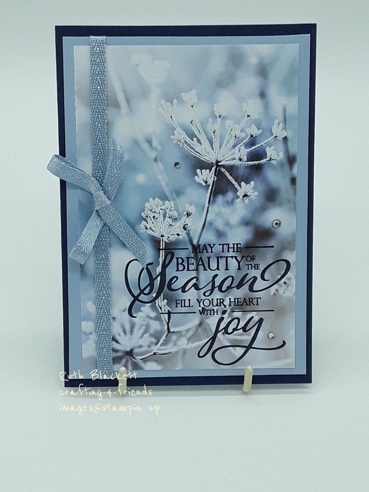 Pin by Ruth Blackett on stampin'up 20192020 my makes