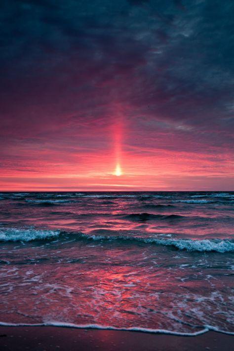 – #Sonnenuntergang – #Sun goes down – #Schöpfung …