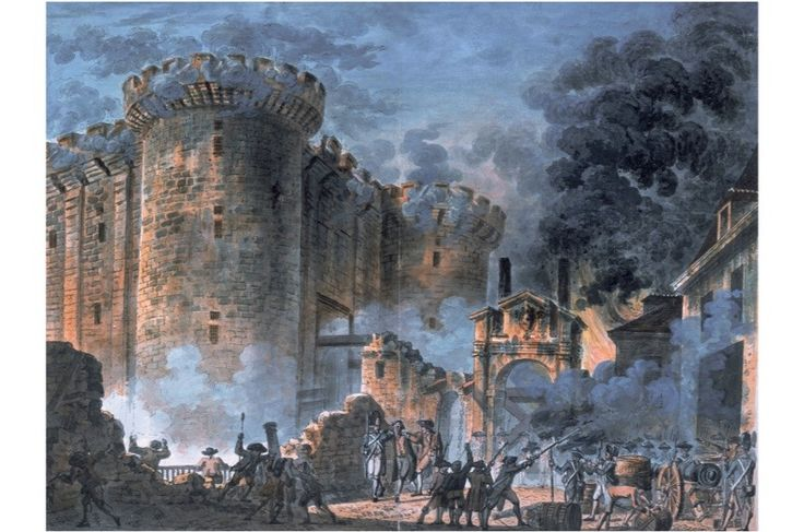 bastille stormed french revolution