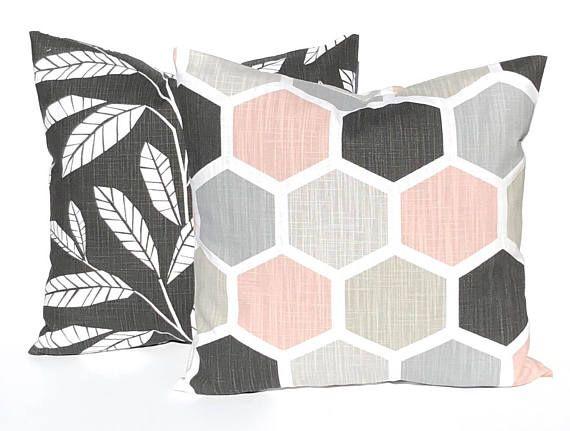 Decorative Pillow Covers  Home Decor  Blush Pink Pillow
