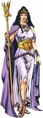Theseus and Hippolyta - GREEK MYTHOLOGY