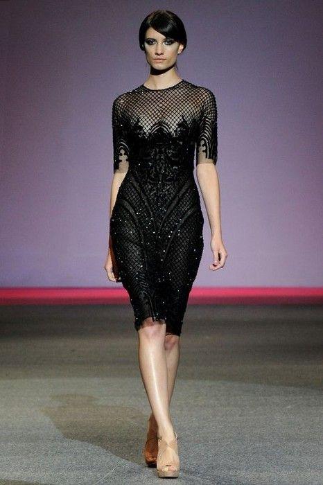 Michael Cinco Haute Couture Fall 2013ю