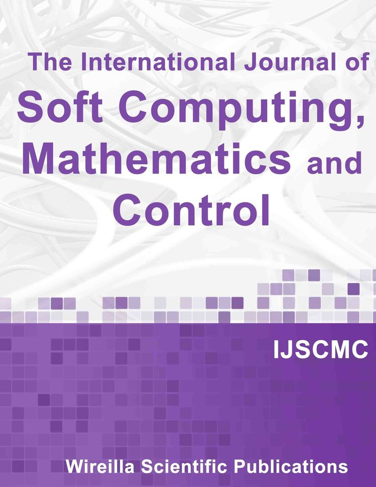 The International Journal of Soft Computing, Mathematics and Control (IJSCMC)   ISSN: 2201-4160   http://wireilla.com/ns/maths/ijscmc.html    Important Dates      •Submission Deadline : June 11, 2016   •Notification : July 11, 2016    •Final Manuscript Due : July 18, 2016    •Publication Date : Determined by the Editor-in-Chief