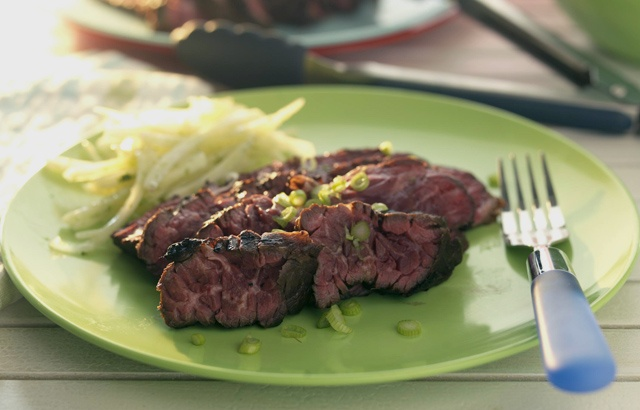 Martin Wishart's Lime-marinated flank steak recipe is delicious ...