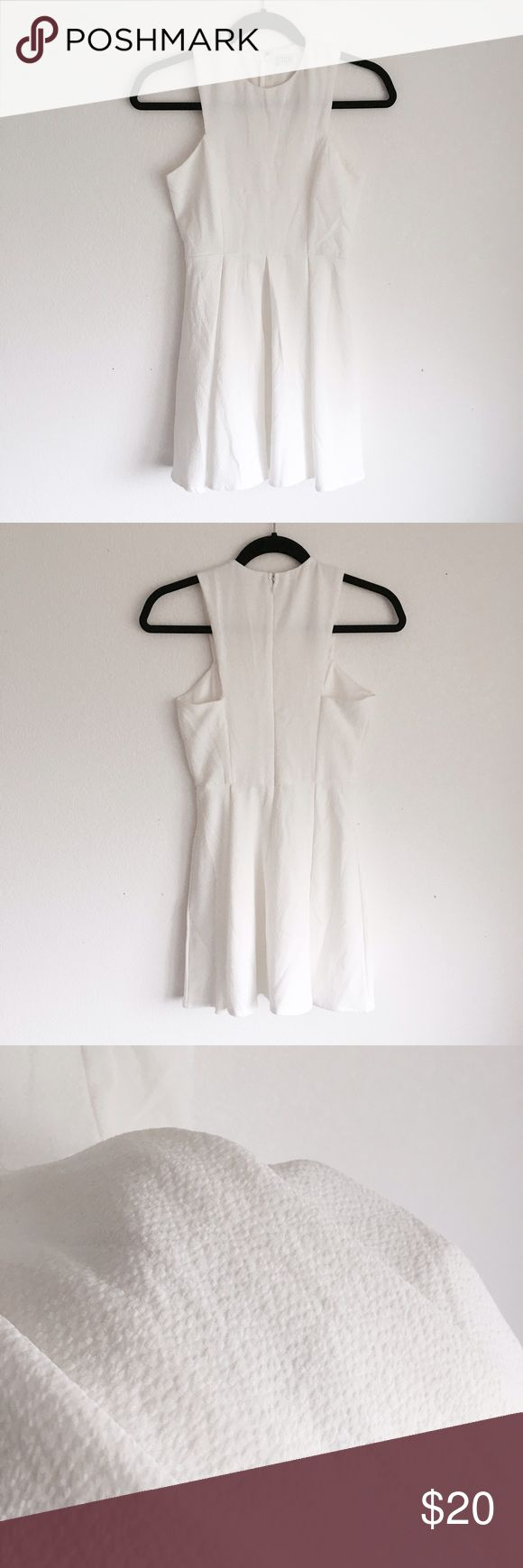 Tobi White Skater Dress Tobi White Skater Dress. Size xsmall. In good condition, no flaws. Tobi Dresses Mini