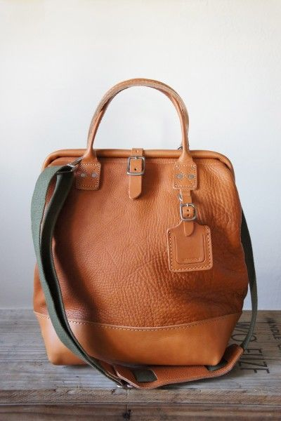 "billyKirk 12"" carryall tan leather / arrow & arrow"