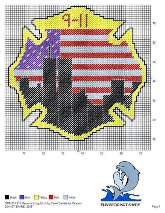 911 Memorial Long Stitch
