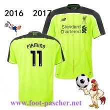 Premier: Maillot Football FC Liverpool (FIRMINO 11) Third 2016 2017 Replica…