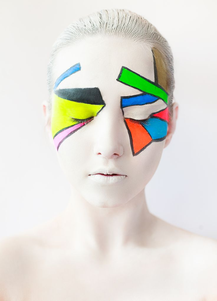pure abstraction makeup art