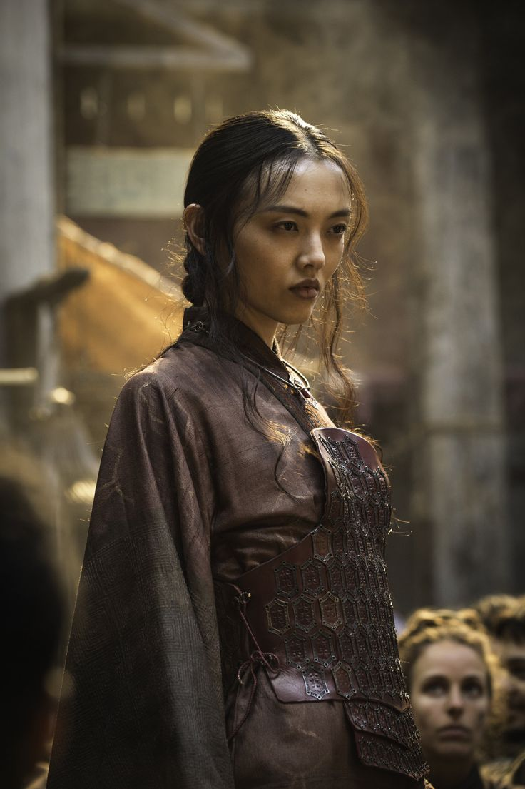 tumblrofthrones:  Rila Fukushima as the Red... -                                         Character Inspiration