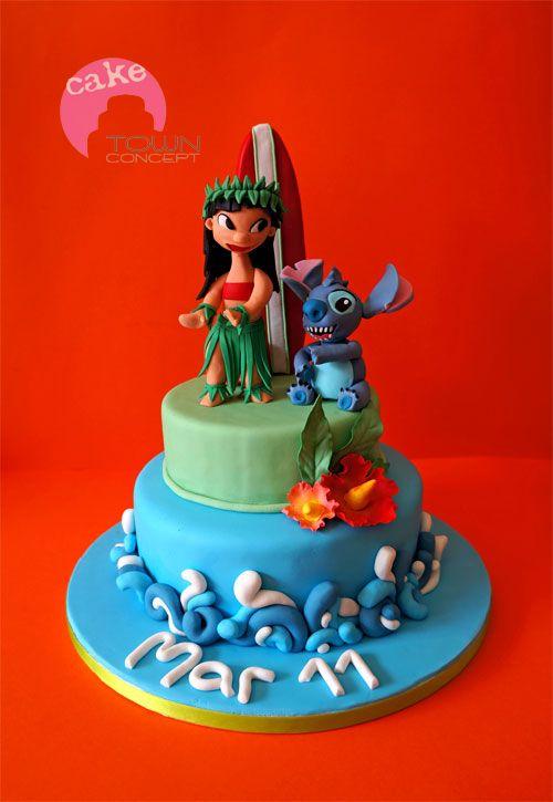 Lilo & Stitch cake - Lilo & Stitch cake
