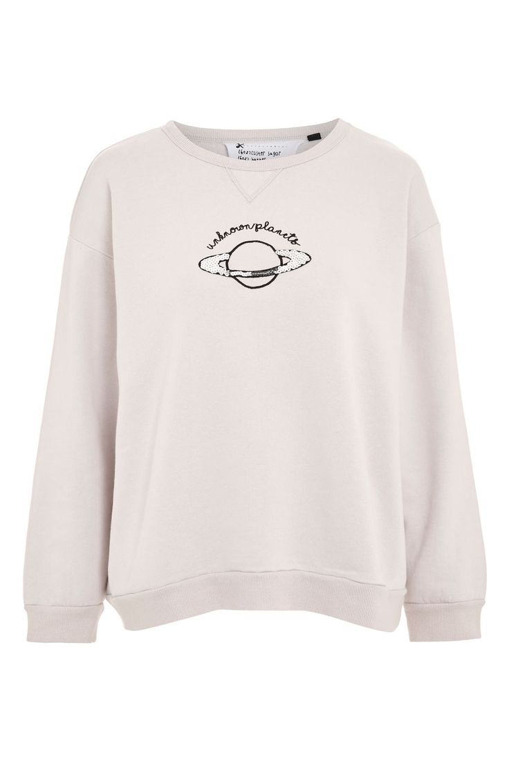 Unknown Planets Boxy Sweatshirt by Tee & Cake
