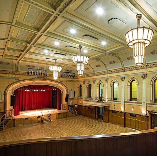 Hawthorn Town Hall hall