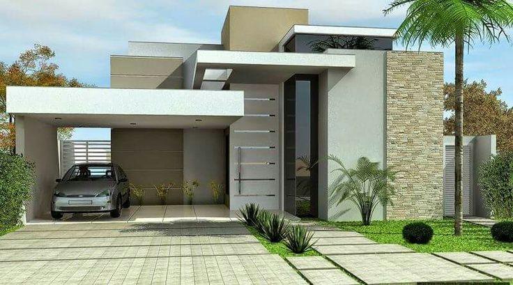 Fachada pr ximamente pinterest fachadas fachadas for Fachadas de casas pequenas de dos pisos estilo minimalista