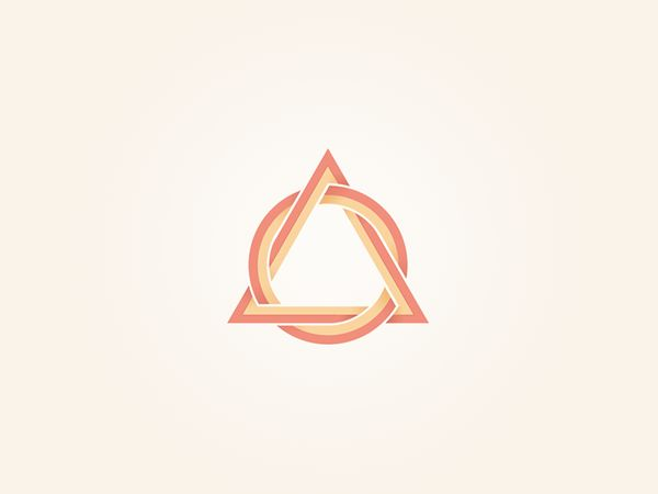 Triangular Shaped Logo