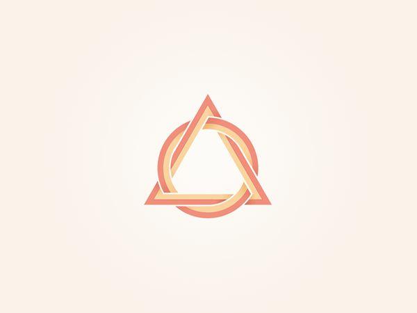 Triangular Shaped Logo