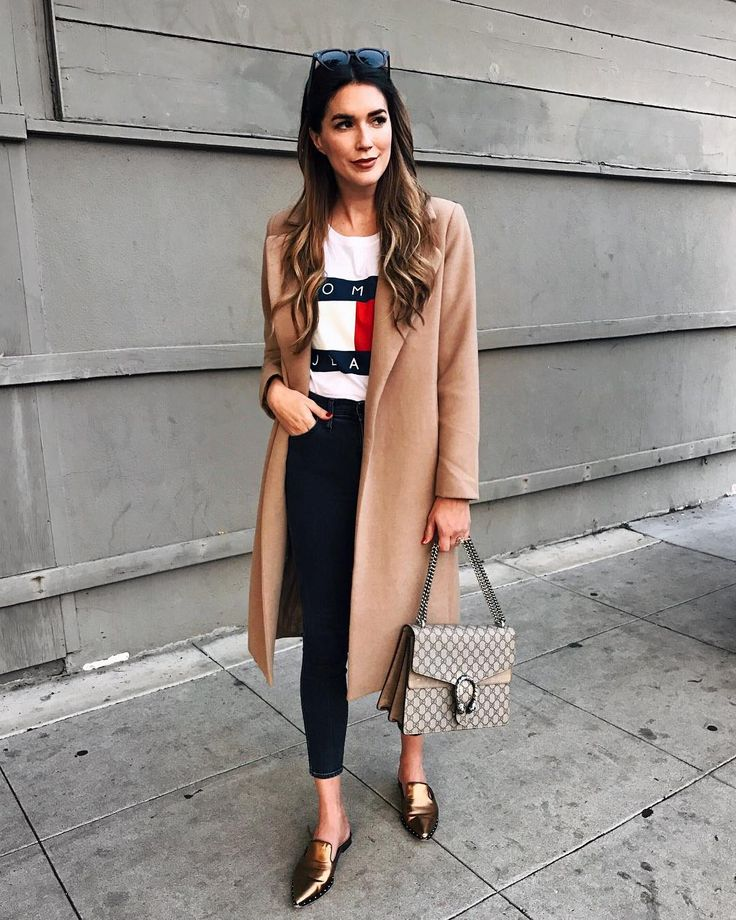 """5,889 curtidas, 69 comentários - BRITTANY XAVIER (@thriftsandthreads) no Instagram: """"Finally a little chilly weather tonight in LA- getting excited to pull out my camel coats for fall!…"""""""