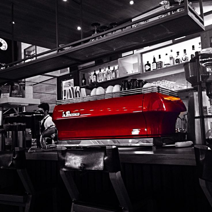 La marzocco is just awesome