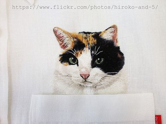 Hey, I found this really awesome Etsy listing at https://www.etsy.com/listing/216906779/hand-embridered-tortoiseshell-cat-in-the