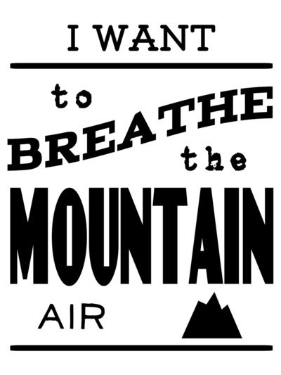Mountain Air  by Lapinlune