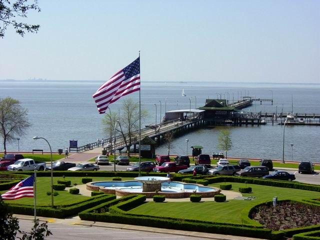 The Fairhope Pier close to many subdivisions we have homes available. The Pier overlooks beautiful Mobile Bay in South Alabama. Fairhope ranks in the top 5 to 10 by many travel magazines as one of the best places to relocate your family. Come and you will understand. Serenity!